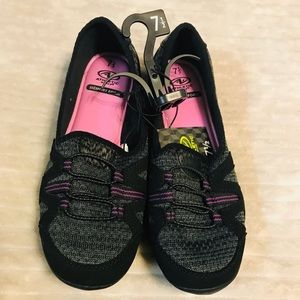 Athletic Works Slip on Tennis shoes NWT